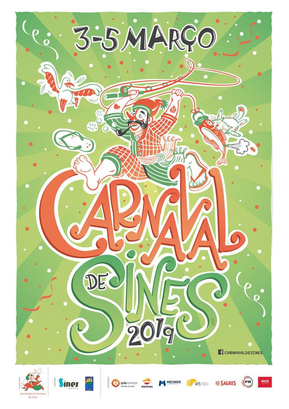 Resultado de imagem para carnaval de sines 2019
